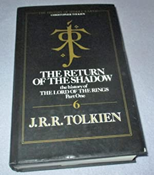 The Return of the Shadow (1st edition): J R R