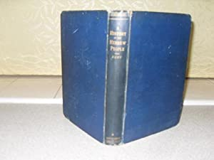 A HISTORY OF THE HEBREW PEOPLE from: Kent, Charles Foster
