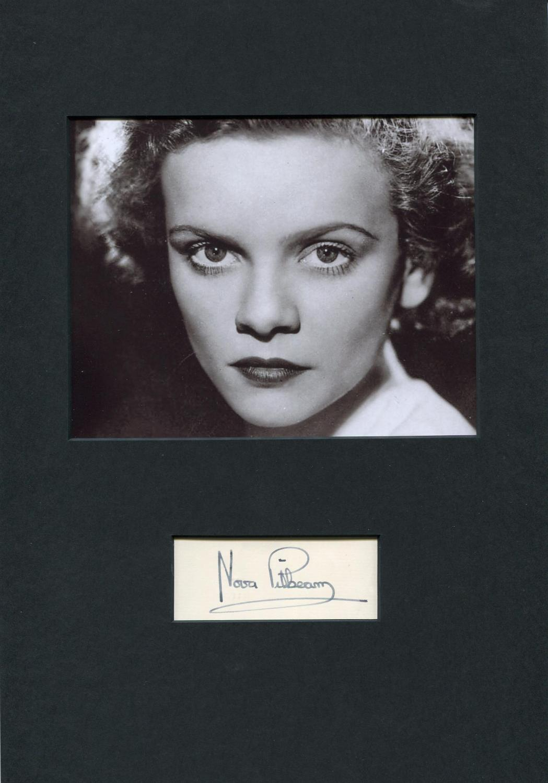 Pilbeam, Nova - Autograph Nova Pilbeam (British film and stage actress) Pilbeam, Nova