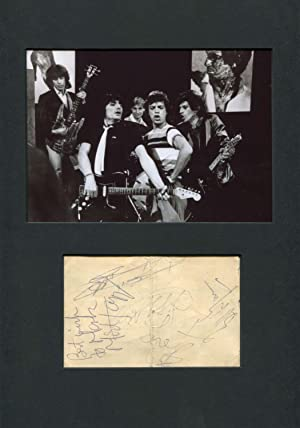 The Rolling Stones - Autograph: The Rolling Stones