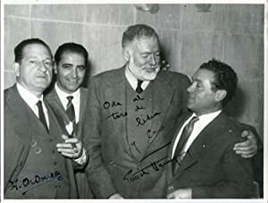 Hemingway, Ernest - Autograph: Ernest Hemingway (American