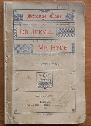 Strange Case of Dr Jekyll and Mr: Robert Louis Stevenson