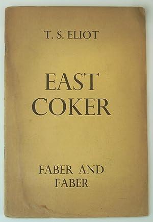 East Coker [The Four Quartets]: T S Eliot