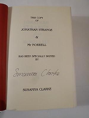 Jonathan Strange & Mr Norrell - Specially signed, white jacket: Clarke, Susanna