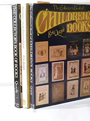 The Collector's Book of Books, of Detective Fiction, and of Children's books - three book collection