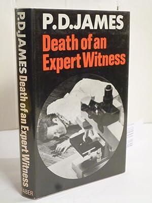 Death of an Expert Witness: James, P.D.