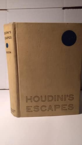 Houdini's Escapes: Walter Gibson