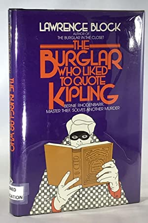 The Burglar Who Liked to Quote Kipling (Association Copy from the Personal Collection of Otto Pen...