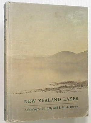 New Zealand Lakes: Jolly V.H. Brown