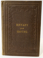 A Discourse on the Life, Character and Genius of Washington Irving . . .]