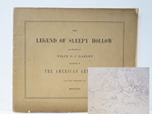 Illustrations of the Legend of Sleepy Hollow Designed and Etched by Felix O. C. Darley for the Me...