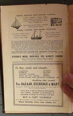 Model Yachts and Boats: Their Designing, Making, and Sailing.: Grosvenor, J. Du V.