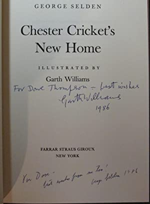 Chester Cricket's New Home: Selden, George