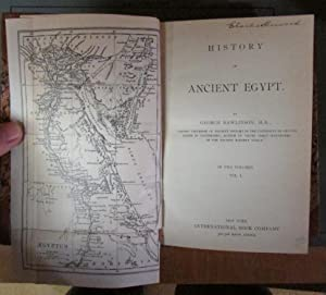 History of Ancient Egypt (Two Volumes): Rawlinson, George