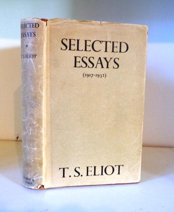 essays by ts elliot