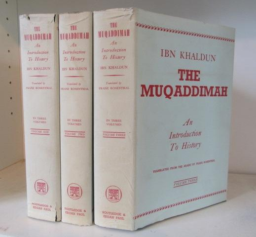 The Muqaddimah: An Introduction to History, in 3 Volumes by Ibn ...