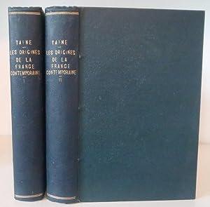 Les Origines de la France contemporaine. L'Ancien: Taine, H.