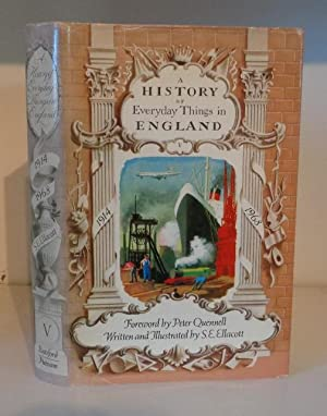 A History of Everyday Things in England: Ellacott, S. E.