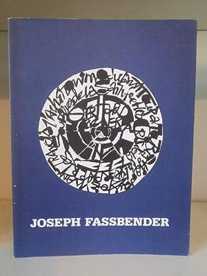 Joseph Fassbender - Malerei zwischen Figuration und: Fassbender, Joseph ;