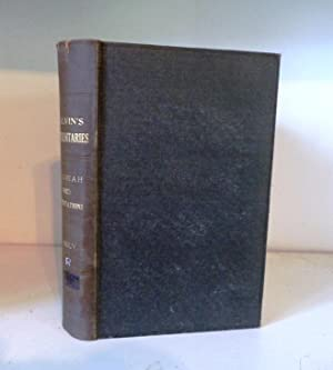 Commentaries on the Book of the Prophet: Calvin, John [Jean]