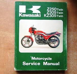 kawasaki z250 motorcycle service manual abebooks rh abebooks com Kawasaki Z650 Kawasaki Z125