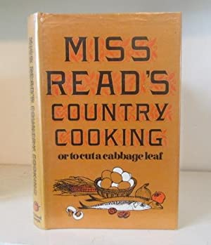 Miss Read's Country Cooking or to Cut: Miss Read