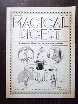 The Magical Digest, a Monthly Magazine for: Oswald, Oscar (editor)