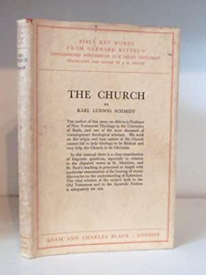 The Church - Bible Key Word's from: Schmidt, Karl Ludwig