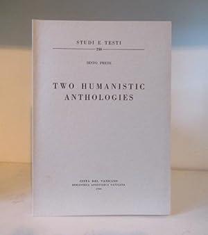 Two Humanistic Anthologies: Prete, Sesto