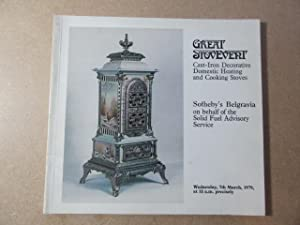 Great Stovevent - Cast-Iron Decorative Domestic Heating: Sotheby's on behalf