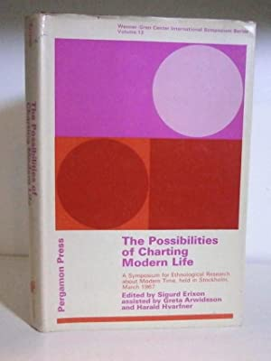 The Possibilities of Charting Modern Life -: Erixon, Sigurd (edited