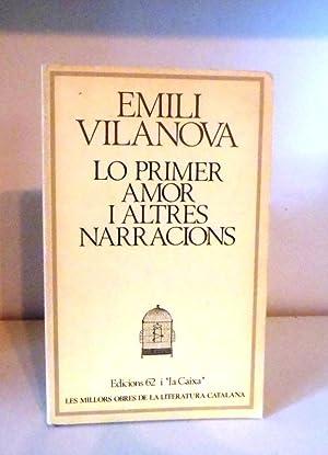 Lo primer amor i altres narracions: Vilanova, Emili