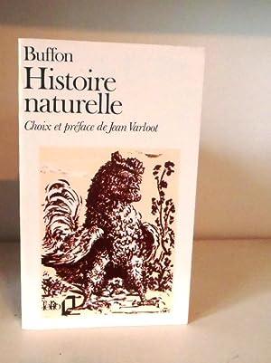 Buffon Histoire Naturelle: Buffon; Varloot, Jean