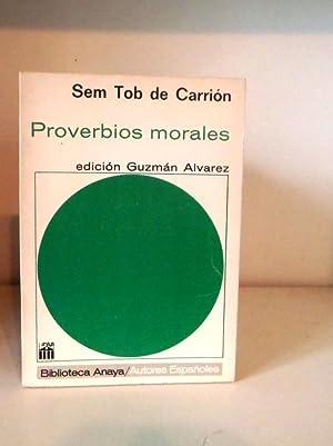 Proverbios morales: CARRIÓN, Seb Tob