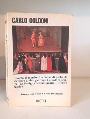 L'uomo di mondo - La donna di: Goldoni, Carlo ;