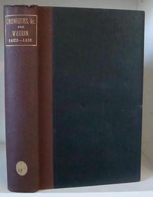 Recueil des Chroniques et Anciennes Istories de: Hardy, William (ed.)