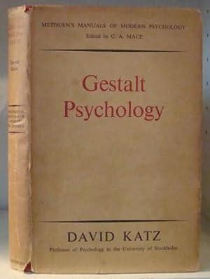 Gestalt Psychology - Its Nature and Significance: Katz, David