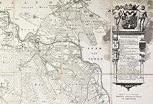 Kaart figuratief van het grootste gedeelte van: BRABANT
