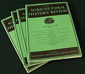 The Agricultural History Review. 24 Volumes, as: THE BRITISH AGRICULTURAL
