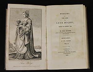 Memoirs of the Life of Anne Boleyn,: BENGER, MISS