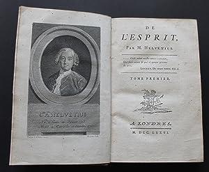 De L'Homme, de ses Facultes Intellectuelles, et: HELVETIUS, CLAUDE ADRIAN