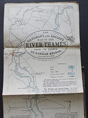 The Oarsman's and Angler's Map of the: REYNOLDS, JAMES (Publisher)