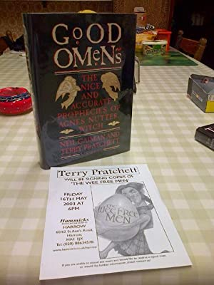 Good Omens *******SIGNED US HB 1/1*****: Pratchett, Terry; Gaiman,