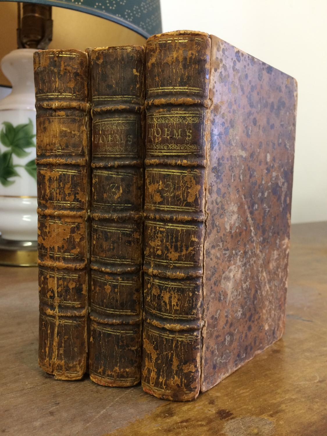 A Collection of Poems. By several Hands. In three Volumes. Dodsley (Robert, Editor)]