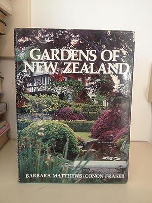 Gardens of New Zealand: Matthews, Barbara [John