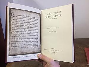Miscellaneous Irish Annals (A.D. 1114-1437).: O Hinnse, Seamus
