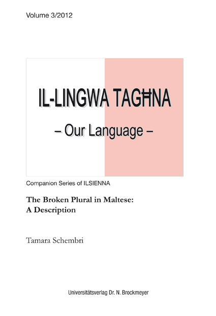 The Broken Plural in Maltese: Schembri, Tamara