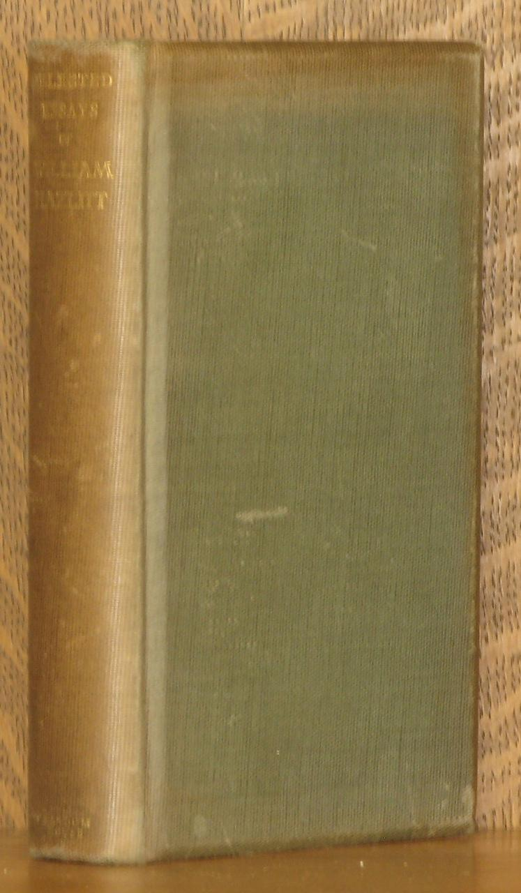 selected essays william hazlitt abebooks