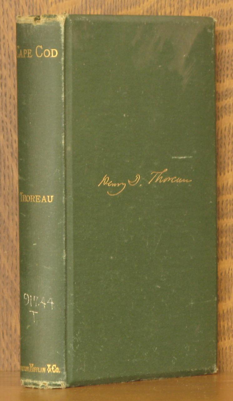 CAPE COD: Henry D. Thoreau