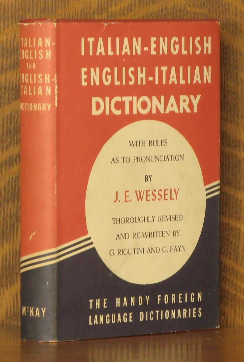 KETTRIDGE'S ITALIAN-ENGLISH, ENGLISH-ITALIAN